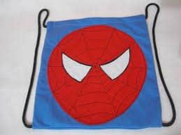 Artigos infantis homem aranha