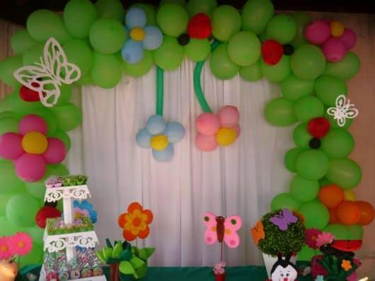 ideias de decoracao tema jardim : ideias de decoracao tema jardim:FESTA JARDIM ENCANTADO Infantil: 40 Ideias e Fotos!