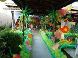 enfeites festa jardim encantado