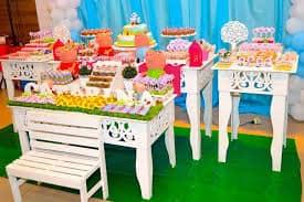 Imagens de festa infantil Peppa Pig provençal