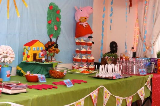 Aniversário barato da Peppa Pig