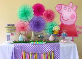 Aniversário Peppa Pig pequeno e barato