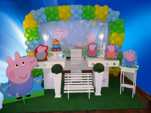 decoração peppa pig para menino