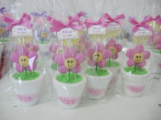 brindes festa jardim encantado flores