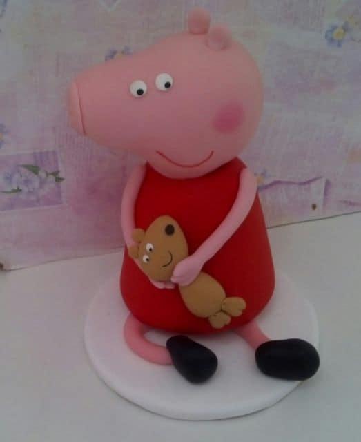 lembrancinhas peppa pig biscuit