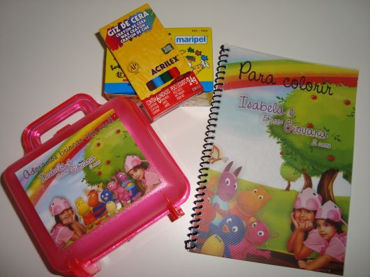 kit pintura backyardigans