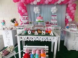 mesa de festa decorada infantil