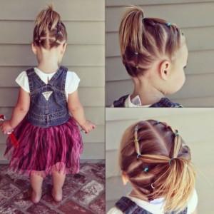 Fotos de penteado para cabelo curto infantil de menina