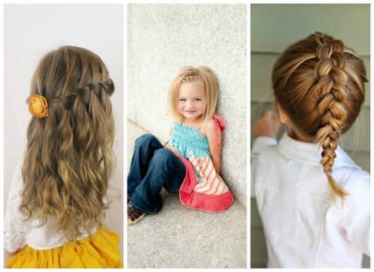 Imagens de meninas pequenas com lindos cabelos