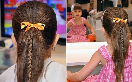 Фото причёски в школу 5 класс