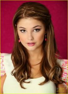 Penteado estilo princesa para meninas
