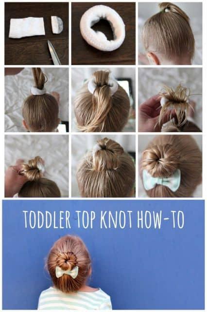penteado de menina fácil e simples de fazer