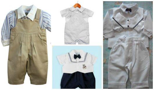 como vestir bebê para batizado