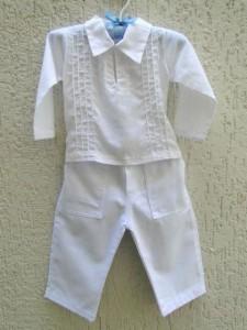 modelos de roupas para batismo masculino