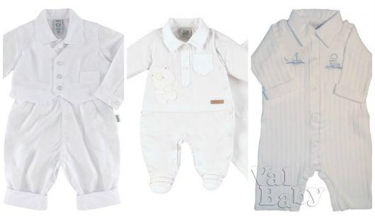 roupas para bebê menino usar em batismo
