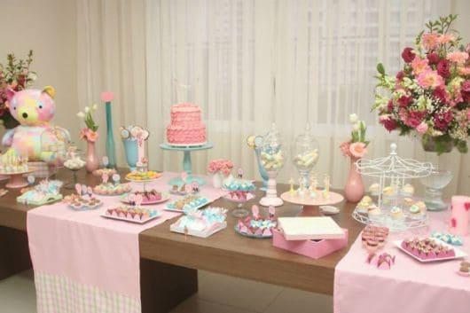 temas para chá de bebê feminino