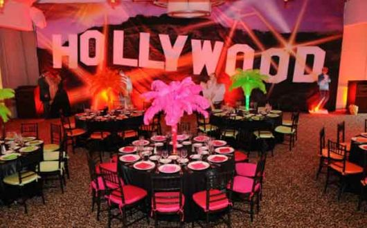 Tema glamuroso Hollywood