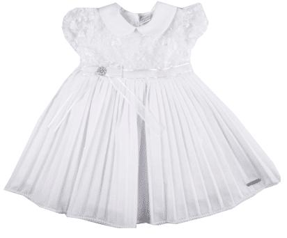 vestido de batizado para menina