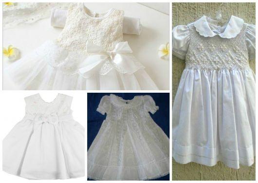 vestido de batizado para recém nascido