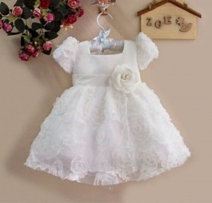 nome do vestido de batizado
