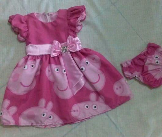Modelos de vestido da Peppa Pig
