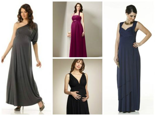 fotos de vestidos de festa para gestantes