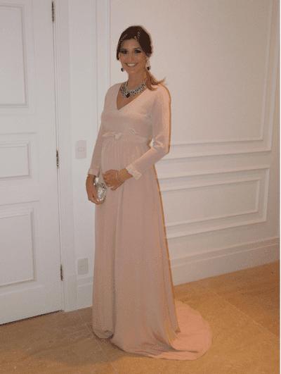 vestidos de festa de formatura para gestantes