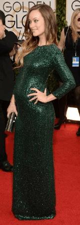 vestido de festa para gestante famosa