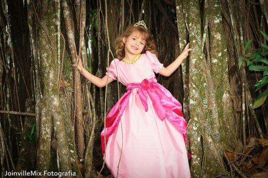 dicas de foto infantil fantasia princesa