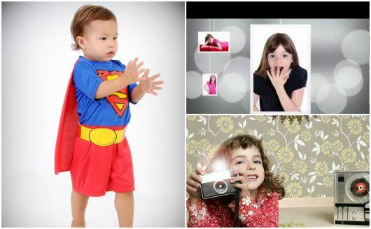 fotos profissionais de crianças