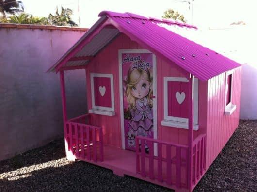 casinha de boneca da barbie