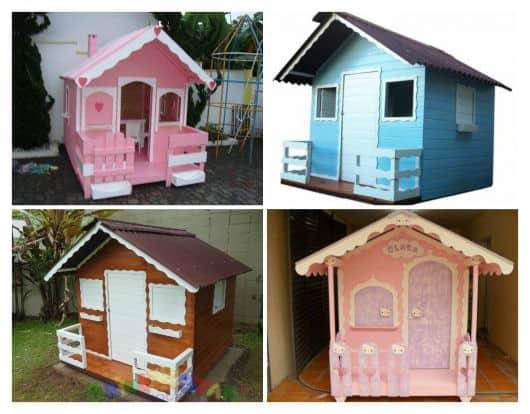 Imagens de modelos de casas de boneca
