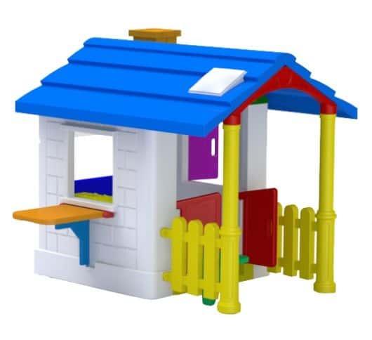 casinha de boneca de plastico