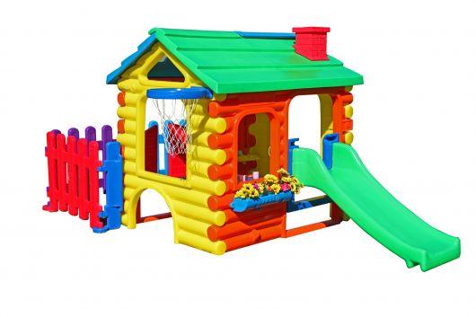 Modelo de casa de menina para brincar