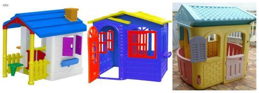 Variedade de modelos de casinhas