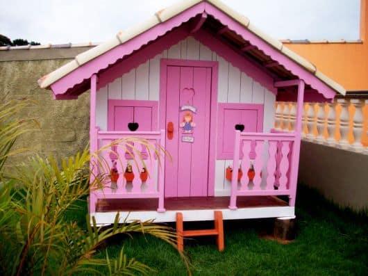 casinha de boneca barata