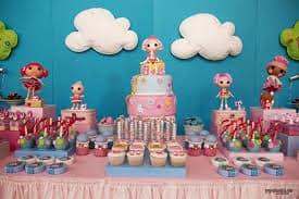 Dicas de decoração - festa Lalaloopsy infantil