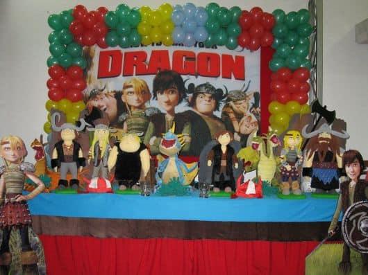 Fotos festa como treinar seu dragão