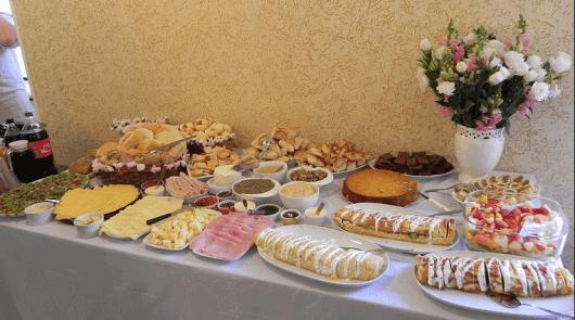 Ideia de churrasco e buffet