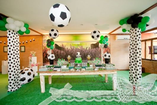 Dicas de decoração para Festa futebol infantil