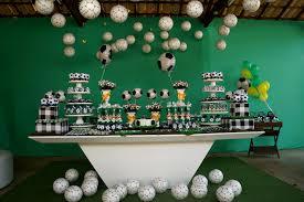 Ideias de decoração de Festa de futebol com bolas