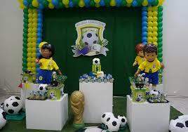 Painel de festa de futebol infantil