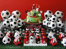 Decoração de festa futebol infantil do Flamengo