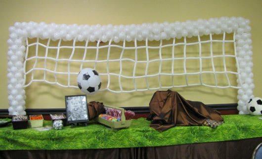 Ideias diferentes para festa de futebol infantil
