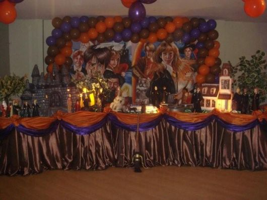 festa de quinze anos harry potter