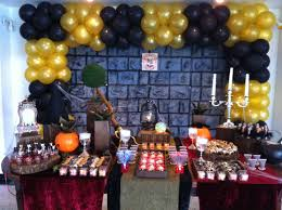 festa com o tema harry potter