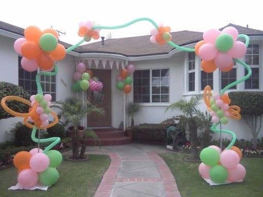 Decoração de festa Lalaloopsy em casa