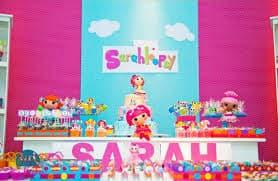 festa infantil Lalaloopsy personalizada - fotos