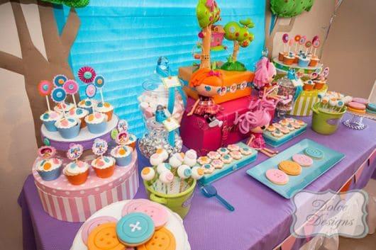 Dicas de decoração de festa infantil Lalaloopsy