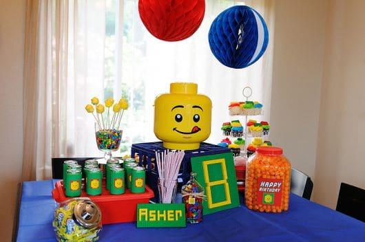 Dicas de aniversário Lego em casa simples